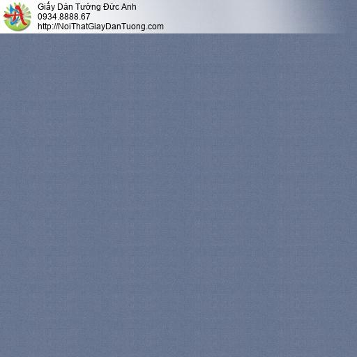 V concept 7915-5 | Giấy dán tường gân màu xanh than, giấy trơn xanh nước biển hiện đại