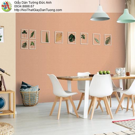 V concept 7915-6 | Giấy dán tường màu cam, giấy trơn một màu cam nhạt đẹp hiện đại