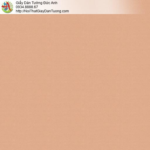 V concept 7915-7 | Giấy dán tường gân trơn màu cam, giấy dán tường hiện đại không có hình hoa văn