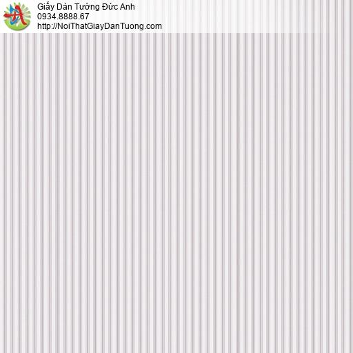 V concept 7916-2 | Giấy dán tường dạng sọc màu hồng lợt, giấy sọc hiện đại màu hồng nhạt