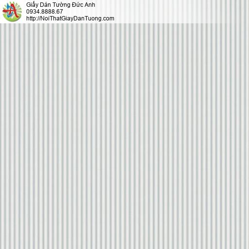 V concept 7916-3 | Giấy dán tường sọc nhỏ màu xam nhạt, giấy dán tường hiện đại