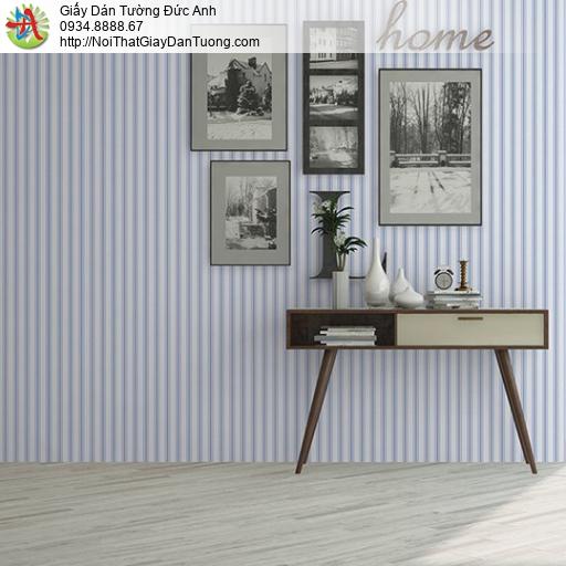 V concept 7916-5 | Giấy dán tường sọc màu xanh, giấy dán tường hiện đại 2021