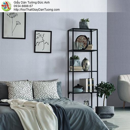 V concept 7917-3 | Giấy dán tường dạng kẻ sọc nhỏ chìm màu xám nhạt hiện đại