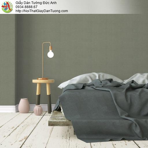 V concept 7917-6 | Giấy dán tường sọc nhỏ màu xanh rêu, giấy dán tường hiện đại