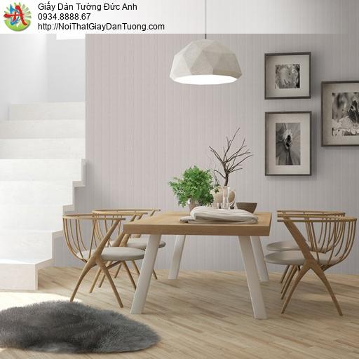 V concept 7918-5 | Giấy dán tường màu xám nâu, giấy dán tường sọc ẩn hiện đại