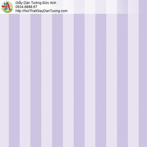 V concept 7922-5 | Giấy dán tường kẻ sọc màu tím, giấy sọc tím hiện đại 2021