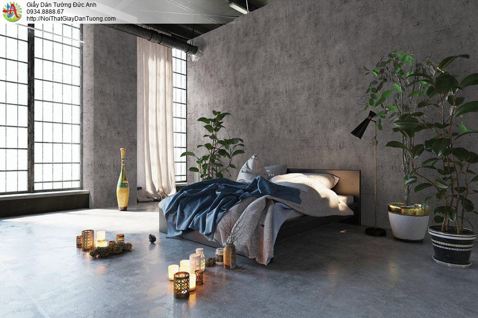 V concept 7919-3 | Giấy dán tường giả bê tông, giấy bê tông màu xám xi măng đẹp giá rẻ