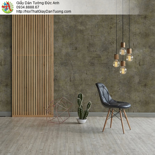 V concept 7919-4 | Giấy dán tường giả xi măng màu xám vàng, giấy giả bê tông