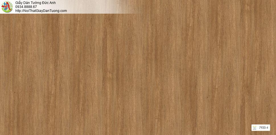 V concept 7920-4 | Giấy dán tường giả gỗ màu vàng, màu vàng đậm vàng đồng