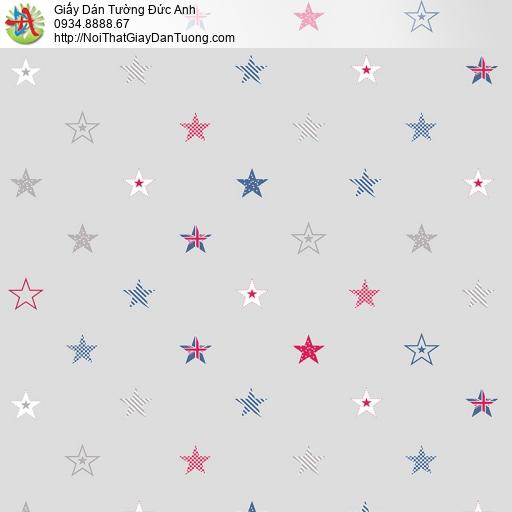 V concept 7925-1 | Giấy dán tường hình ngôi sao nhiều màu cho phòng ngủ bé yêu