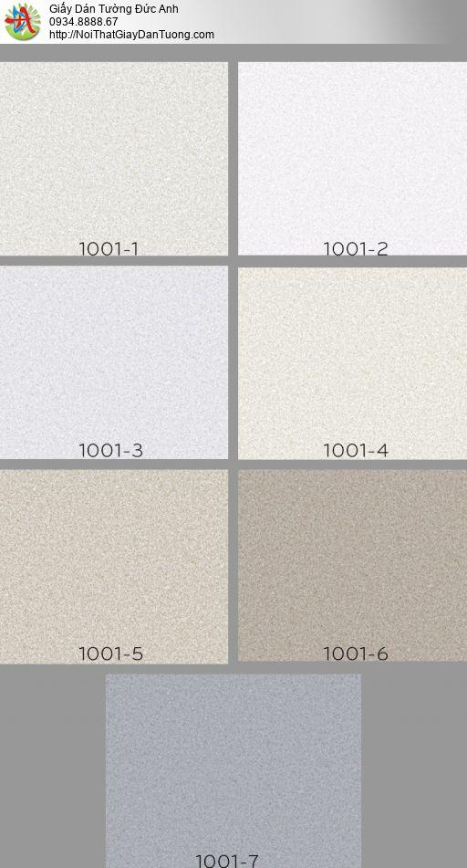 Vila 1001-7 | Giấy dán tường dạng vân cát màu xám tro, giấy dán tường hiện đại