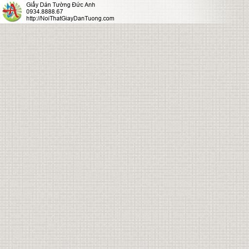Vila 1002-4 | Giấy dán tường họa tiết đường kẻ ô vuông nhỏ màu xám nhạt, màu xám kem