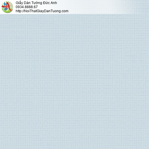 Vila 1002-7 | Giấy dán tường hoạ tiết ô vuông nhỏ màu xanh lơ, màu xanh da trời