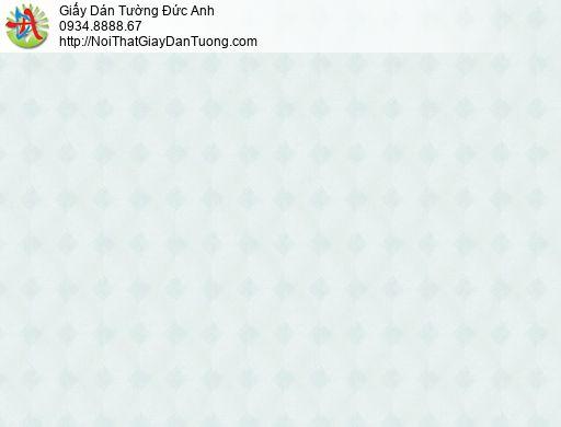 Vila 1003-2 | Giấy dán tường họa tiết ca rô màu xanh lá cây nhạt, caro hình thoi