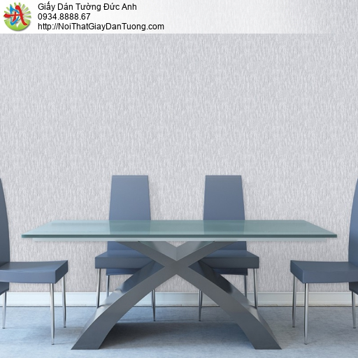 Soho 56084-2 | Giấy dán tường gân nhuyễn màu xám nhạt, giấy dán tường hiện đại