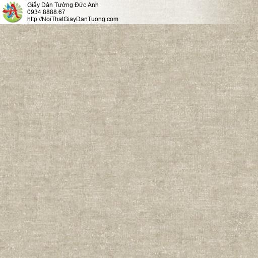 Mozen 61007-4, Giấy dán tường hiện đại không có hoa văn một màu vàng đất, màu nâu đất