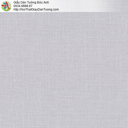 Mozen 61011-6, Giấy dán tường màu tím nhạt, giấy gân đơn giản một màu hiện đại