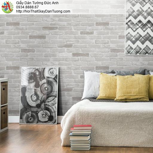 Mozen 61012-1, Giấy dán tường giả gạch màu trắng, giây dán tường giả gạch 3D 2021