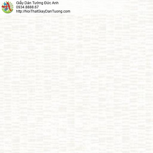 Mozen 61014-1, Giấy dán tường gân đơn giản hiện đại màu trắng nhạt