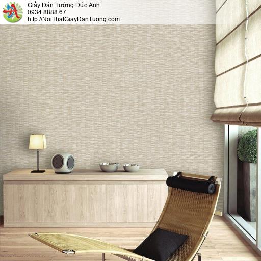 Mozen 61014-2, Giấy dán tường hoa văn hiện đại màu vàng nhạt, hoa văn họa tiết đơn giản một màu