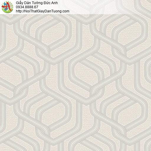 Mozen 73015-2, Giây dán tường hoa văn đan xen màu vàng nhạt