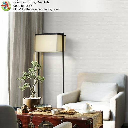 Mozen 73017-1, Giây dán tường gân to màu trắng, giấy dán tường hiện đại