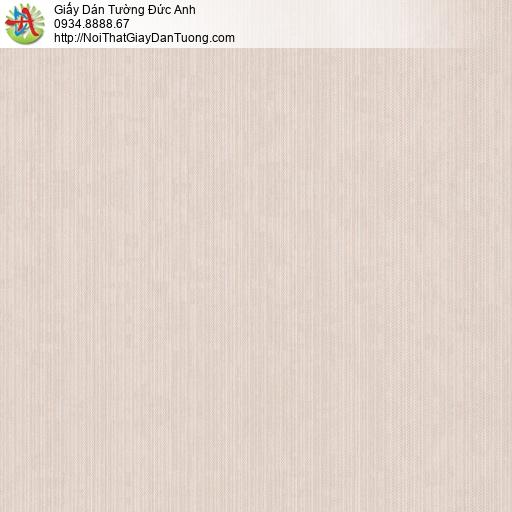 Tango 0111, Giấy dán tường cao cấp màu hồng nhạt, giấy một màu đơn giản hiện đại
