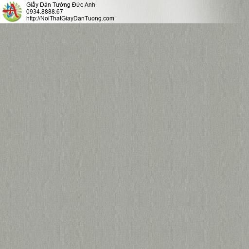 Tango 0134, Vải dán tường không dệt màu xám đen, vải dán tường cao cấp hiện đại