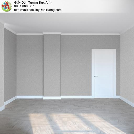 Soho 56134-3, Giấy dán tường màu xám không có hoa văn, giấy hiện đại một màu
