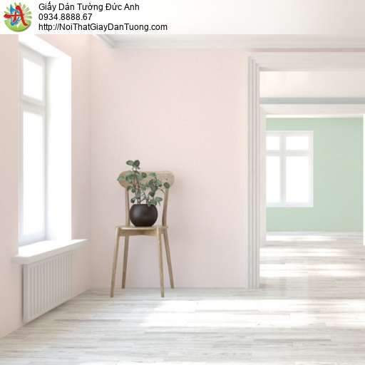 Soho 56135-4, Giấy dán tường màu hồng không có hoa văn hiện đại , giấy trơn màu hồng