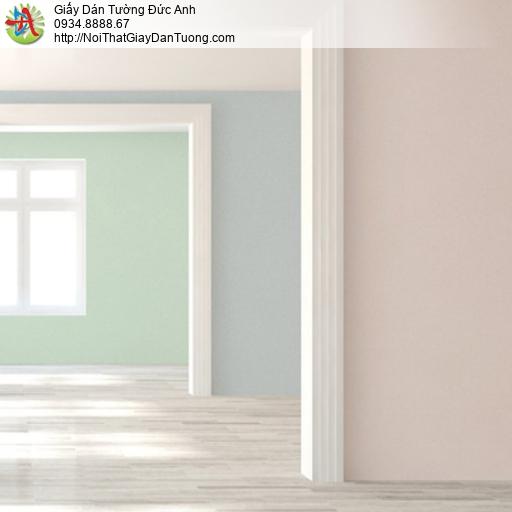 Soho 56135-5, Giấy dán tường màu xanh dương nhạt, giấy trơn không có hoa văn