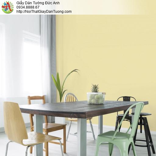 Soho 56135-7, Giấy dán tường màu vàng không có hoa văn, giấy trơn màu vàng đơn giản