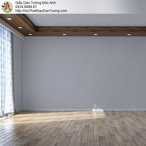 Soho 56136-5, Giấy dán tường màu xám đậm hiện đại, giấy trơn không có hoa văn
