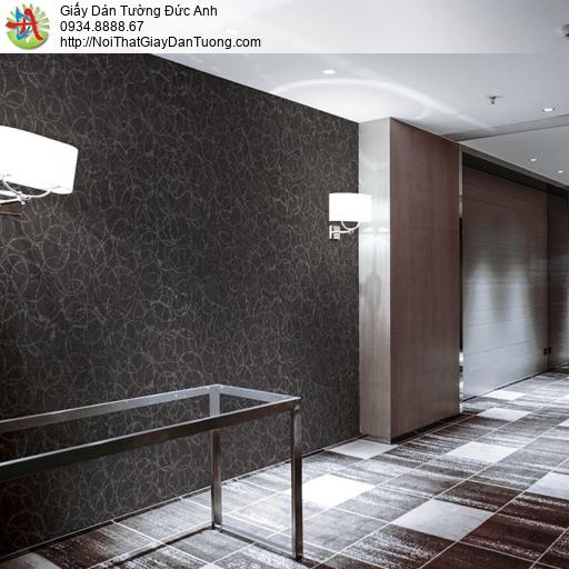 Soho 56138-2, Giấy dán tường hoa văn màu đen, giấy dán tường điểm nhấn tối