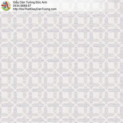 Soho 56141-2, Giấy dán tường họa tiết hình ô vuông nhỏ đan xen màu xám nhạt