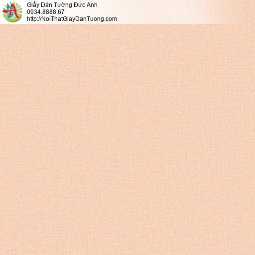 Soho 56144-6, Giấy dán tường màu hồng đỏ, giấy dán tường gân màu cam nhạt