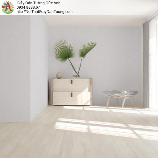 Soho 56146-4, Giấy dán tường gân trơn đơn giản màu xám nhạt hiện đại
