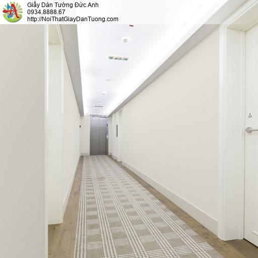 Soho 56147-2, Giấy dán tường trơn đơn giản một màu trắng xám nhạt
