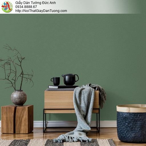 Soho 56148-7, Giấy dán tường màu xanh ngọc, xanh lá cây đậm, xanh rêu đơn giản không có hoa văn