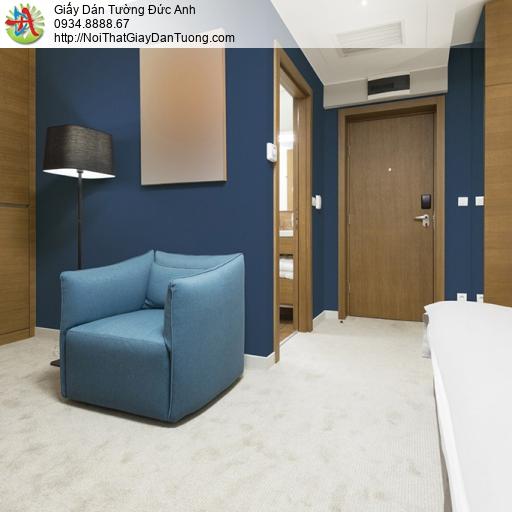 Soho 56149-9, Giấy dán tường màu xanh than, giấy màu xanh đậm