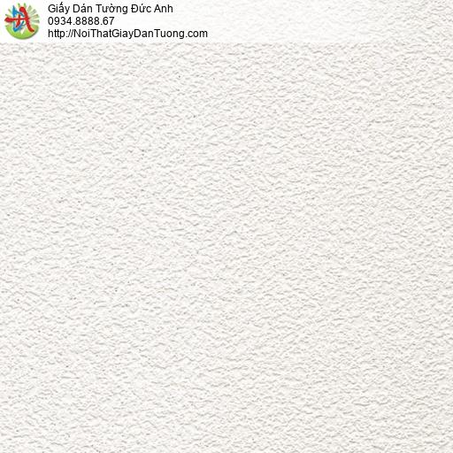 Soho 66000-1, Giấy dán tường màu trắng có kim sa, gân giấy giống với phun gai
