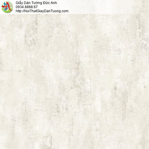 Casabene 2718-2, Giấy dán tường giả bê tông, màu bê tông ám vàng nhạt xu hướng trang trí hiện đại