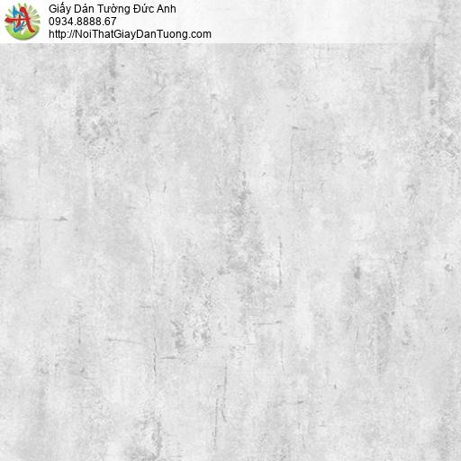 Casabene 2718-3, Giấy dán tường giả bê tông màu xám nhạt, mẫu màu bê tông xu hướng trang trí 2021
