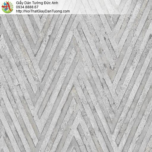 Casabene 2719-3, Giấy dán tường xi măng kẻ chéo màu bê tông mới 2021