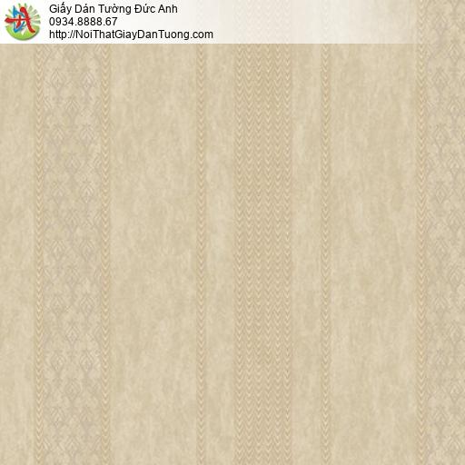 Casabene 2724-2, Giấy dán tường kẻ sọc màu vàng mới 2021