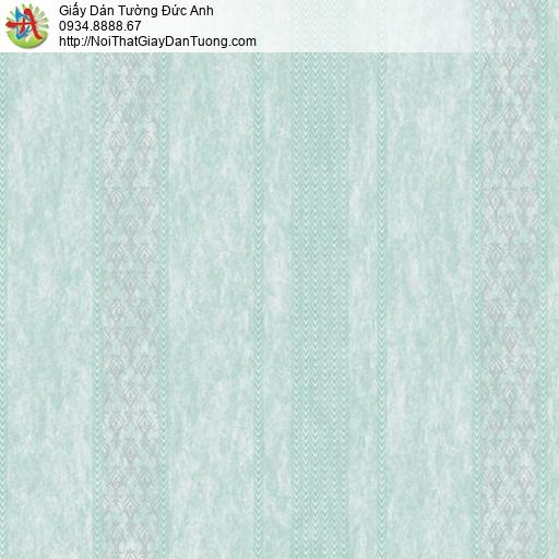 Casabene 2724-3, Giấy dán tường kẻ sọc màu xanh lá cây đẹp hiện đại