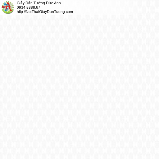 Casabene 2726-1, Giấy dán tường họa tiết ca rô màu trắng hiện đại