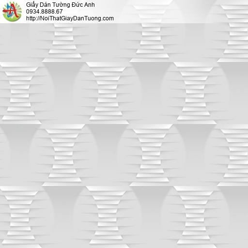 Casabene 2727-2, Giấy dán tường 3D màu xám hiện đại 2021
