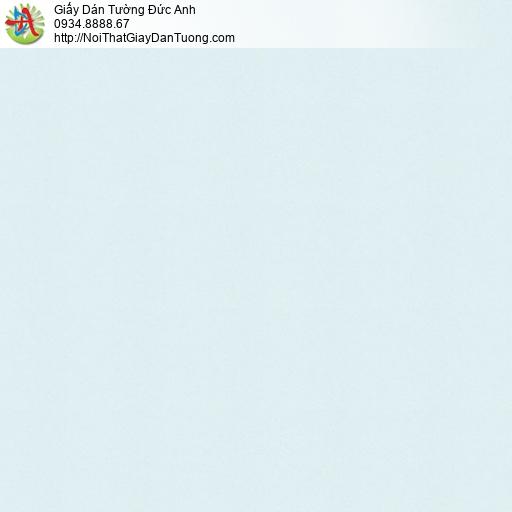 Casabene 2729-6, Giấy dán tường trơn gân đơn giản màu xanh lơ nhạt