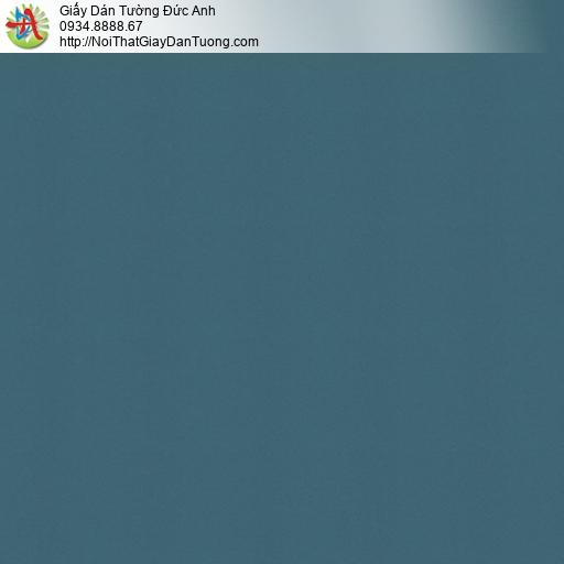 Casabene 2729-7, Giấy dán tường màu xanh ngọc, giấy gân đơn giản màu xanh cổ vịt